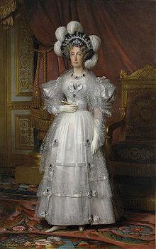 Louis Hersent - Marie-Amélie de Bourbon, princesse des Deux-Siciles, reine des Français.jpg