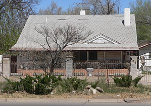 National Register of Historic Places listings in Chaves County, New Mexico - Image: Louise Massey house from S 1