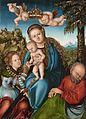 Lucas Cranach d.Ä. (Werkst.) - Mystische Vermählung der heiligen Katharina.jpg