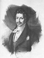 König Ludwig I. von Bayern wurde zur Zielscheibe zahlreicher spöttischer Verse von Heine (Quelle: Wikimedia)