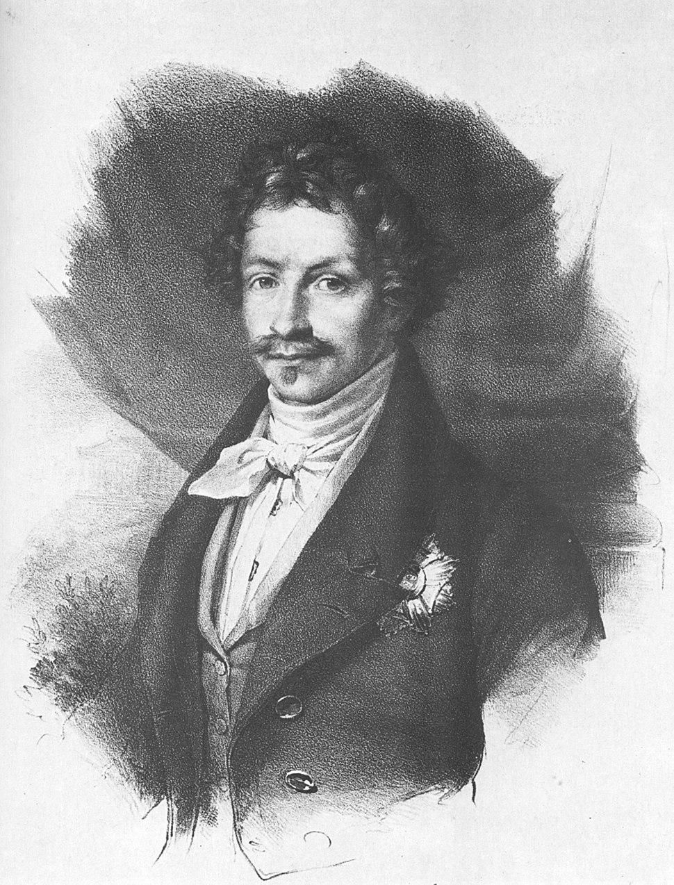 Ludwig I. von Bayern around 1830