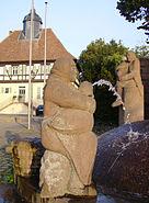 Ludwigshafen-Ruchheim Paul-Muench-Brunnen