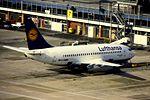 Lufthansa B737-200 D-ABMB at MAN (16268064792).jpg
