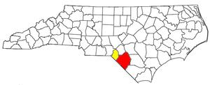 Lumberton, North Carolina - Image: Lumberton Laurinburg CSA