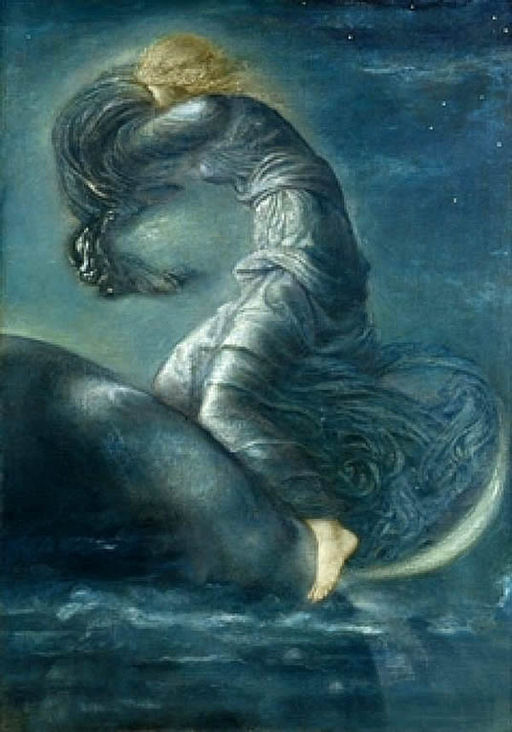 Luna - Edward Burne-Jones (1870)