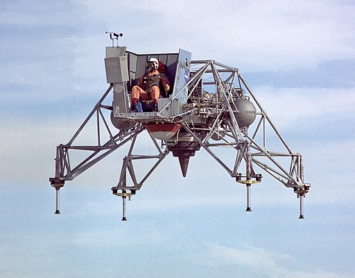 Lunar Landing Research Vehicle No. 2 in 1967 (ECN-1606)