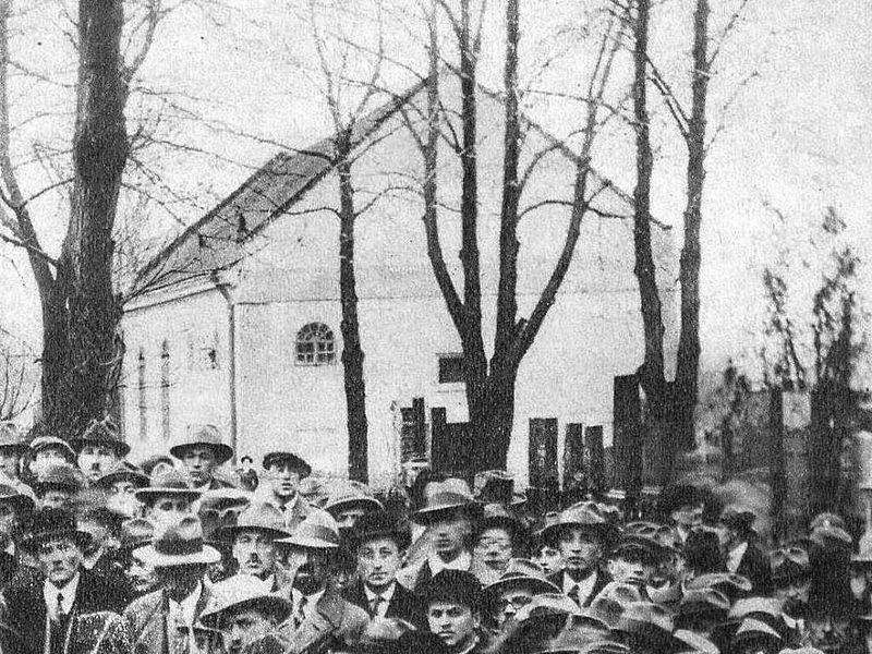 File:Lviv,New Jewish Cemetery,Cemetery Synagogue.jpg