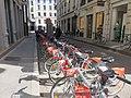 Lyon 2e - Station Vélo'v 2024 rue Simon Maupin (mars 2019).jpg