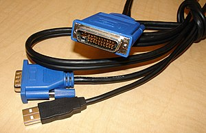 VESA Enhanced Video Connector - M1-A EVC cable