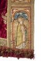 MCC-21485 Rode koorkap met verrijzenis op schild, aurifriezen met Bonifatius, Augustinus en Barbara (7).tif
