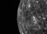 A Monochrome view of Mercury from MESSENGER