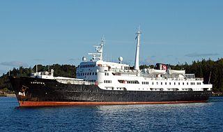 MS <i>Lofoten</i> ship