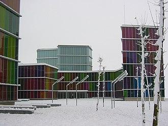 Museo de Arte Contemporáneo de Castilla y León - Image: MUSAC SNOW