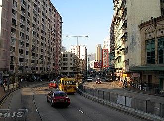 Ma Tau Chung - A view of Ma Tau Chung Road.