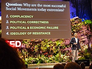 Maajid Nawaz - Nawaz during his TED talk A Global Culture to Fight Extremism