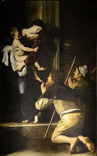 Sant'Agostino, Rome - Madonna di Loreto, by Caravaggio