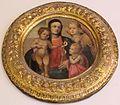 Maestro del desco chigi saracini, madonna col bambino, s. giovannino e un angelo, 1550 ca., da seminario arcivescovile.JPG