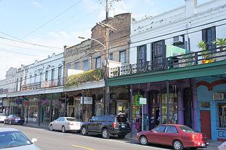 Magazine Street - Magazine Street at Josephine