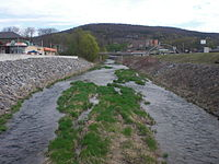 Mahoning Ceek looking upstream in Danville, Pennsylvania.jpg