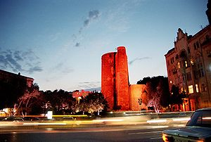 Architecture of Baku - The Maiden Tower, one of Baku's top tourist attractions