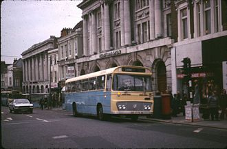 Boro'line Maidstone - Willowbrook bodied Bedford YRT