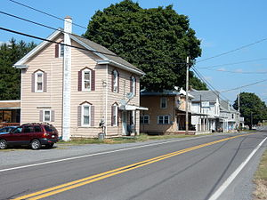 Hubley Township, Schuylkill County, Pennsylvania - Image: Main St, Sacramento, Hubley Twp, Schuylkill Co PA 01