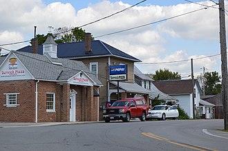 Green Camp, Ohio - Businesses on Main Street