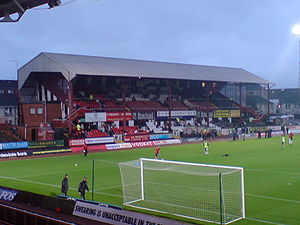 Love Street (stadium) - Old Main Stand