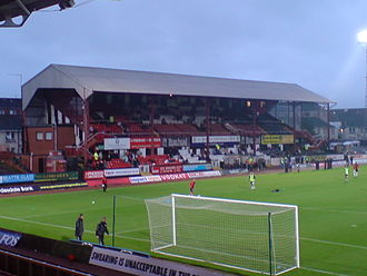 Love Street (stadium) - Old Main Stand
