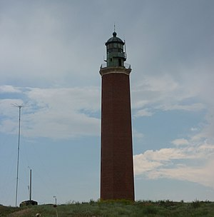 Limansky District - Peter the Great Lighthouse, a cultural heritage object in the selo of Vyshka in Limansky District