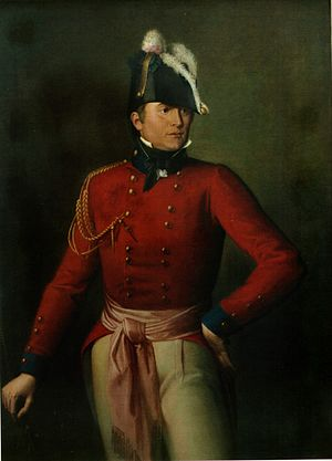 Robert Ross (British Army officer) - Oil portrait of Major-General Robert Ross