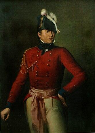 Robert Ross (British Army officer) - Oil portrait of Major-General Robert Ross