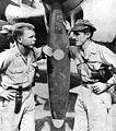 Major Richard Bong and Major Thomas McGuire 15 November 1944 in Philippines.jpg