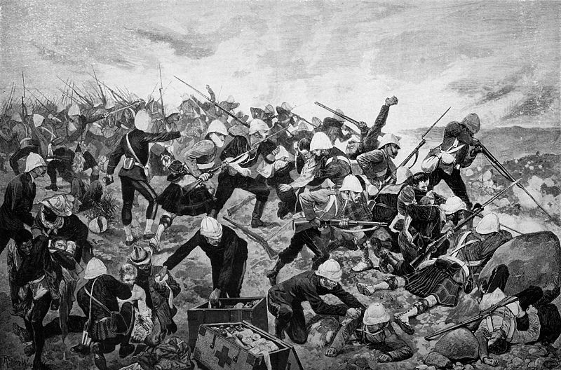The Battle of Hill Mayuba, 1881.
