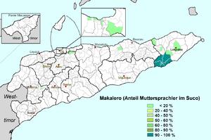 Makalero dialect - Image: Makalero