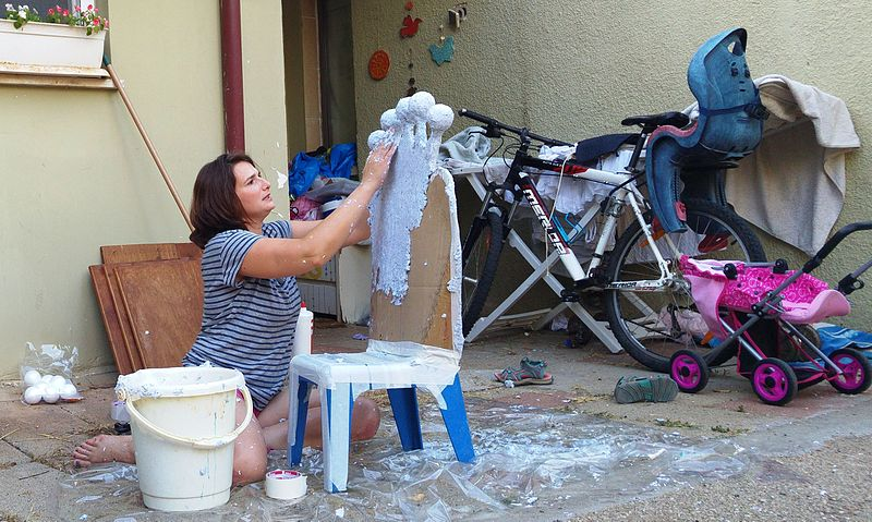 File:Making a birthday chair.jpg