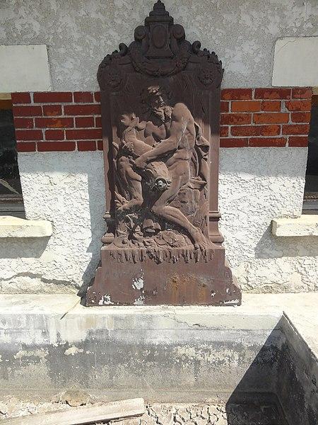 Malancourt (Meuse) fontaine du lavoir