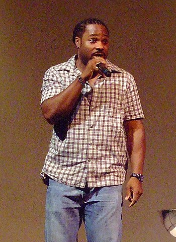 Malcolm-Jamal Warner at National Black Theater...