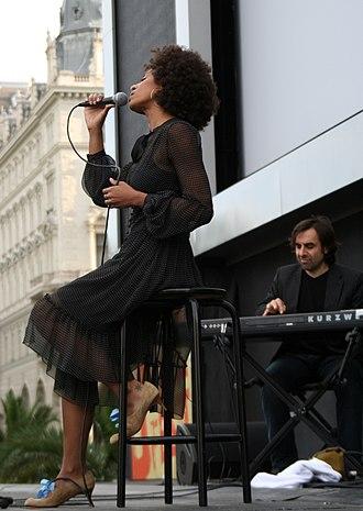 André Manoukian - André Manoukian with Malia (Vienna 2007)