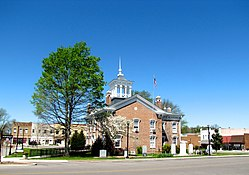 Coffee County Courthouse and courthouse square