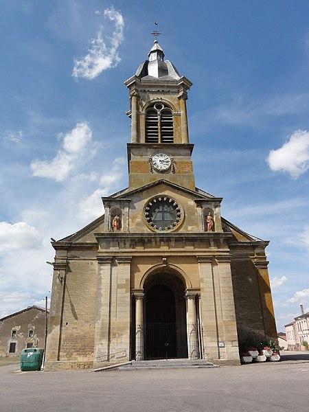 Mangiennes (Meuse) église