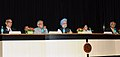 Manmohan Singh at the Golden Jubilee Lecture of the Indian Institute of Management Calcutta, in Kolkata. The Governor of West Bengal, Shri M.K. Narayanan, the Chief Minister of West Bengal.jpg