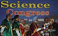 Manmohan Singh presenting the Gold Medal to Professor M.G.K. Menon (presently the Dr. Vikram Sarabhai Distinguished Professor of the Indian Space Research Organization) at the inauguration of 95th Indian Science Congress at.jpg