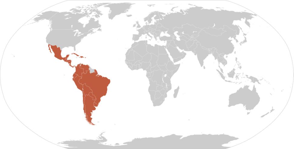 Map-Latin America