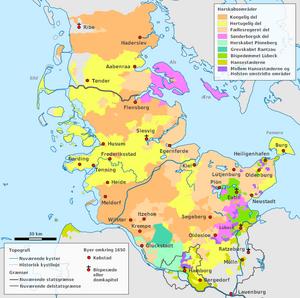 300px-Map_SLH-1650dansk.png