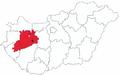 Map of Archdiocese of Veszprem.png