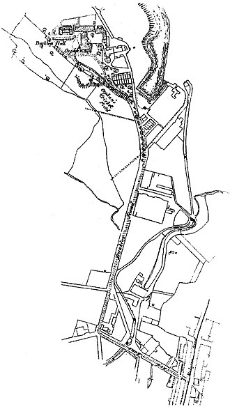 Buckley, Greater Manchester - Buckley, as mapped by the Ordnance Survey between 1888 and 1947.