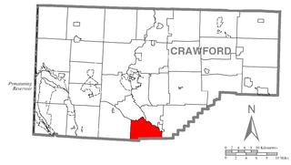 Fairfield Township, Crawford County, Pennsylvania Township in Pennsylvania, United States