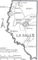 Map of La Salle Parish Louisiana With Municipal and District Labels.PNG