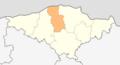 Map of Sitovo municipality (Silistra Province).png